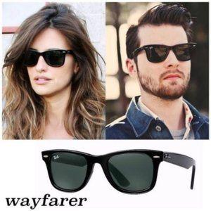 NEW Ray Ban Original Wayfarer Large Lenses Sunglasses